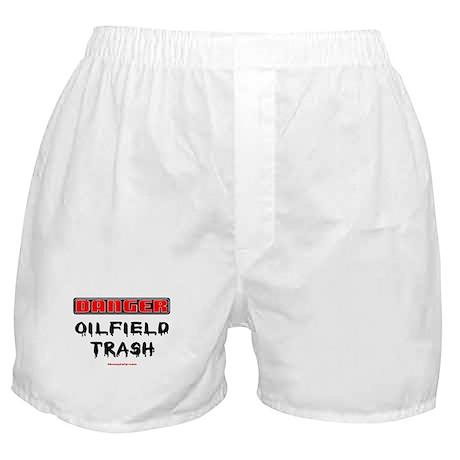 Danger Oilfield Trash Boxer Shorts