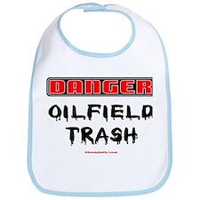 Danger Oilfield Trash Bib