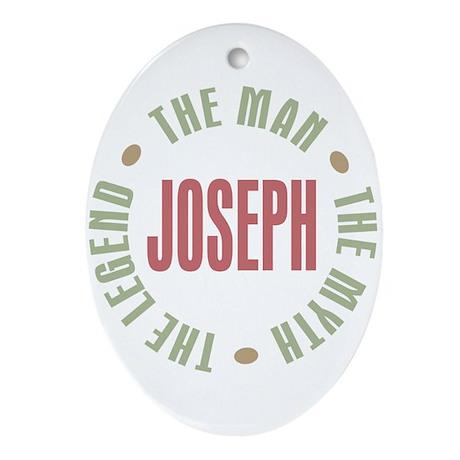 Joseph Man Myth Legend Oval Ornament