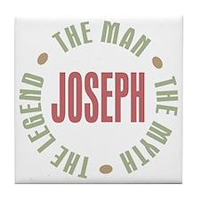 Joseph Man Myth Legend Tile Coaster