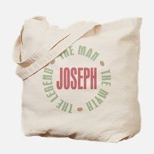 Joseph Man Myth Legend Tote Bag