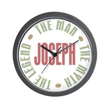 Joseph Man Myth Legend Wall Clock