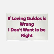Guido Love Rectangle Magnet