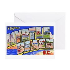 Myrtle Beach South Carolina Greeting Cards (Pk of