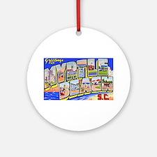 Myrtle Beach South Carolina Ornament (Round)