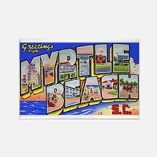 Myrtle Beach South Carolina Rectangle Magnet