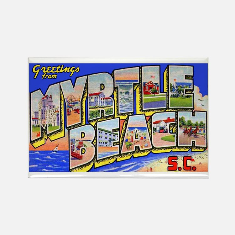 Myrtle Beach South Carolina Rectangle Magnet