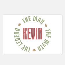 Kevin Man Myth Legend Postcards (Package of 8)