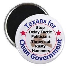 Texans for Clean Government Magnet