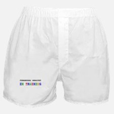 Financial Analyst In Training Boxer Shorts