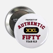 """Authentic Fifty 2.25"""" Button"""