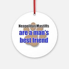 Neapolitan Mastiffs man's best friend Ornament (Ro