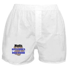 Mudis man's best friend Boxer Shorts