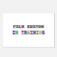 Film Editor In Training Postcards (Package of 8)