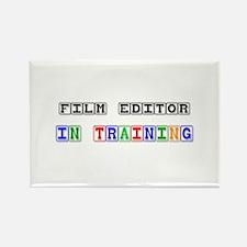 Film Editor In Training Rectangle Magnet