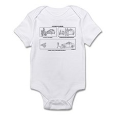 Day In The Life Infant Bodysuit
