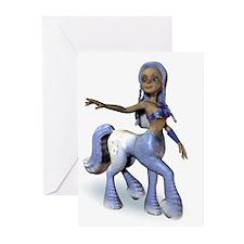 Lila the Centaur Girl Greeting Cards (Pk of 10