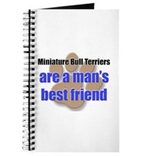 Miniature Bull Terriers man's best friend Journal