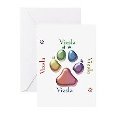 Vizsla Name2 Greeting Cards (Pk of 20)