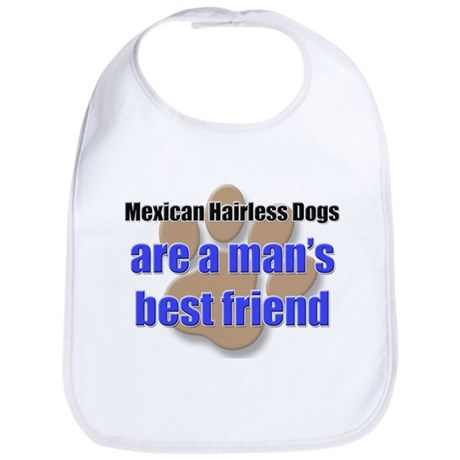 Mexican Hairless Dogs man's best friend Bib