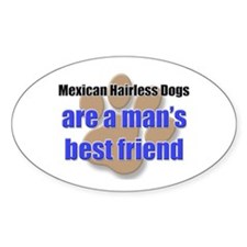 Mexican Hairless Dogs man's best friend Decal