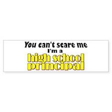 High School Principal Bumper Bumper Sticker