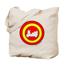 Burgman Retro Tote Bag