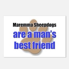 Maremma Sheepdogs man's best friend Postcards (Pac