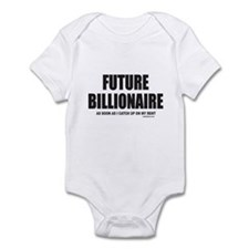 FUTURE BILLIONAIRE Infant Bodysuit