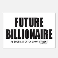 FUTURE BILLIONAIRE Postcards (Package of 8)