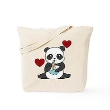 Chibi Noodle Panda Tote