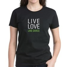 Live Love Line Dance Tee