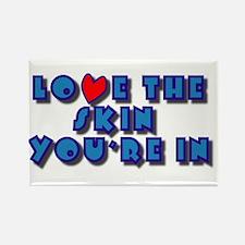 Skin Love Rectangle Magnet