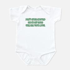 Don't Curse Around Me! Infant Bodysuit