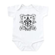 Florentine Fleur-de-lis Infant Bodysuit