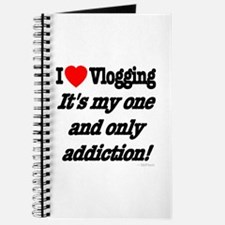 Addicted to Vlogging Journal