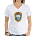 St. Louis County Sheriff Women's V-Neck T-Shirt