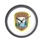 St. Louis County Sheriff Wall Clock