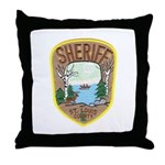 St. Louis County Sheriff Throw Pillow