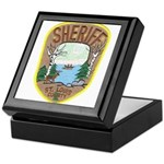 St. Louis County Sheriff Keepsake Box