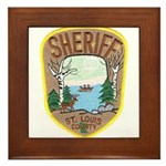 St. Louis County Sheriff Framed Tile