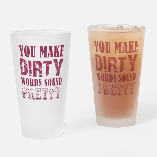 YOU MAKE... Drinking Glass
