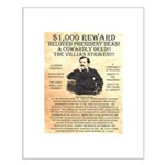 John Wilkes Booth Small Poster
