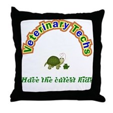 Vet Tech Throw Pillow