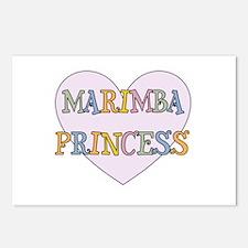 Marimba Princess Postcards (Package of 8)
