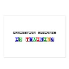 Exhibition Designer In Training Postcards (Package