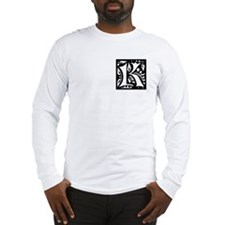 Art Nouveau Initial K Long Sleeve T-Shirt