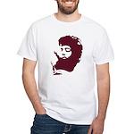 Red Haze White T-Shirt
