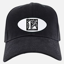 Art Nouveau Initial L Baseball Hat
