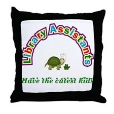 Librarian Assistant Throw Pillow